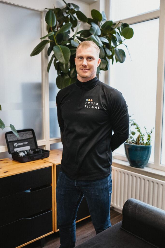Arjan Naaykens owner Fysiofitaal Fysiotherapy TIlburg