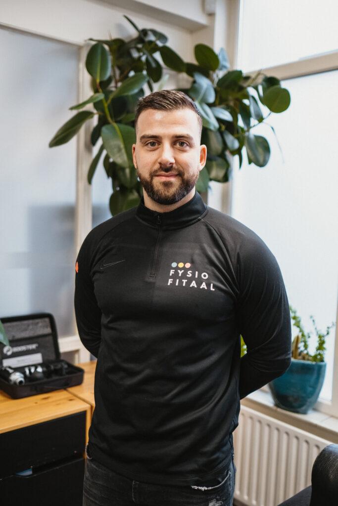 Ruben Luijkx physiotherapist Fysiofitaal TIlburg