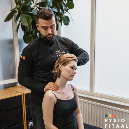 Radiating neck pain